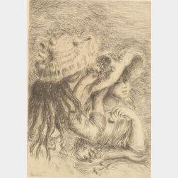 Pierre Auguste Renoir (French, 1841-1919)    Le Chapeau Epinglé