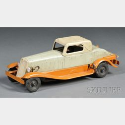 Pressed Steel Pierce Arrow Coupe Touring Car Toy