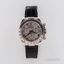 Rolex 18kt White Gold Cosmograph Daytona 116519 Automatic Wristwatch