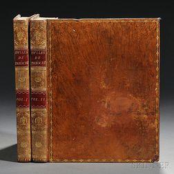 Theocritus (fl. circa 270 BC) Idylles de Theocrite Traduites en Francais par J.B. Gail, [bound with] Les Amours de Leandre et de Hero.