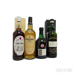 Mixed Single Malt Scotch, 1 700ml bottle3 750ml bottles