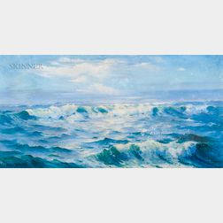 Galen Joseph Perrett (American, 1875-1949)      Rolling In