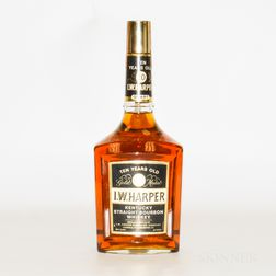 IW Harper 10 Years Old, 1 quart bottle