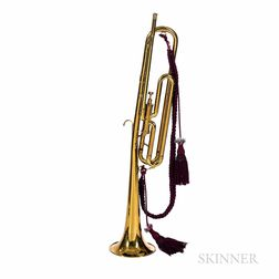 One-valve Bugle, King by H.N. White Co., Cleveland