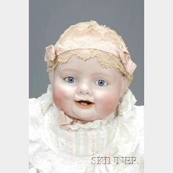 "Georgene Averill ""Bonnie Babe"" Bisque Character Doll"