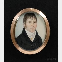 Portrait Miniature of Henry Adams