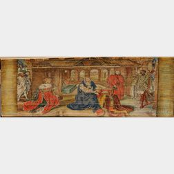 Fore-edge Painting, Double.