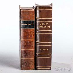 Dibdin, Thomas Frognall (1776-1847) Two Titles.