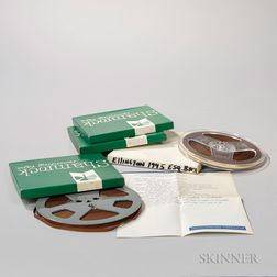Duke Ellington Reel-to-Reel Recordings.     Estimate $300-500