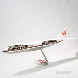 Boeing 747 Japan Airlines Aviation Display Model