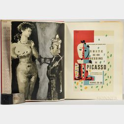 Picasso, Pablo (1881-1973) A Suite of 180 Drawings by Picasso, November 28, 1953-February 3, 1954: Picasso and The Human Comedy.