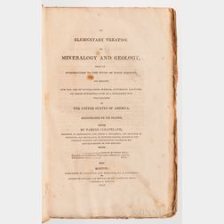 Cleveland, Parker (1780-1858) An Elementary Treatise on Mineralogy and Geology, Being an Introduction to the Study of these Sciences.