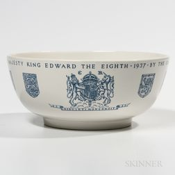 Wedgwood Queen's Ware Edward VIII Bowl
