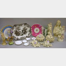 Group of Assorted Decorative and Collectible Ceramic Table Items