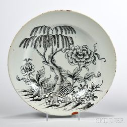 Tin-glazed Earthenware Plate