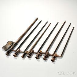 Group of Seven Bayonets