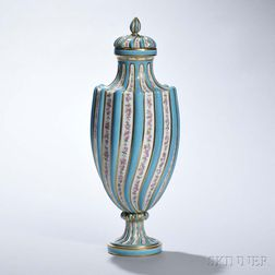Minton Porcelain Sevres-style Vase and Cover