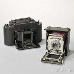 Century Graphic and Graflex 1A Cameras