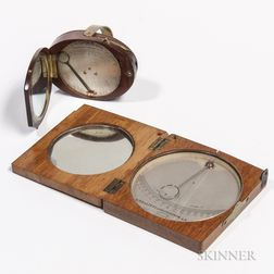 Two Early French Pocket Clinometers