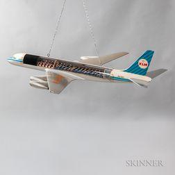 KLM Douglas DC8 Large Aircraft Cutaway Model