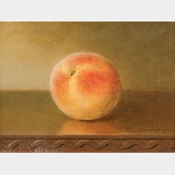 Robert Spear Dunning (American, 1829-1905)      The Peach