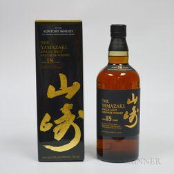 Yamazaki 18 Years Old, 1 750ml bottle (oc)