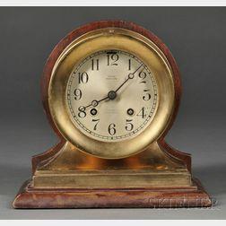 Chelsea Commander Brass Ship's Bell Clock