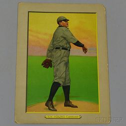 Cy Young Turkey Red Cigarette Series Illustrated Baseball Card