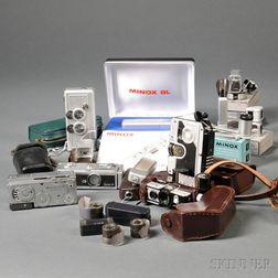 Seven Subminiature Cameras