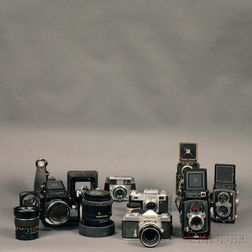 Mamiya 645 Outfit and Other Cameras