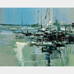 J. Thurston Marshall (American, 1908-1982)      Green Harbor