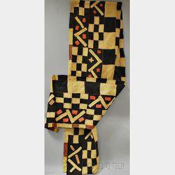 African Raffia Fiber Dance Skirt