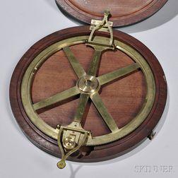 Cary Brass Plotting Compass