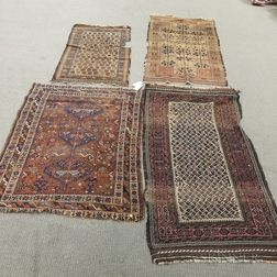 Three Baluch Rugs