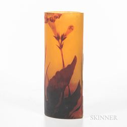 Daum Nancy Navette-form Vase
