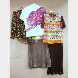 Group of Vintage Designer Clothing
