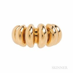 "Bulgari 18kt Gold ""Celtaura"" Ring"