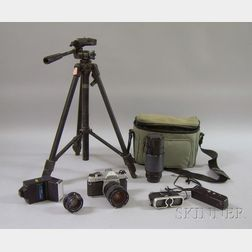 Group of 35mm Photography Equipment