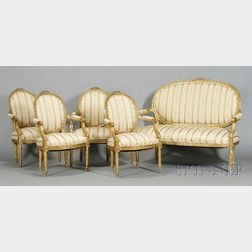 Five-piece Louis XVI-style Seating Suite