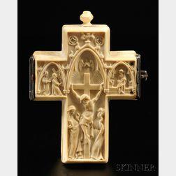 Ivory Crucifix-form Watch