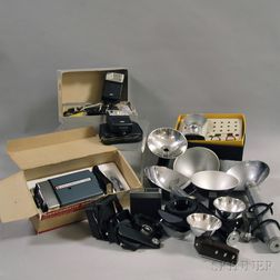 Collection of Miscellaneous Flash and Lighting Equipment