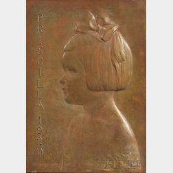 James Earle Fraser (American, 1876-1953)      Priscilla 1920