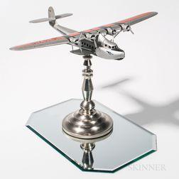 Pan American Systems Seaplane Aviation Model Lamp