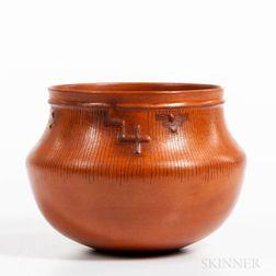 Contemporary Southwest Pottery Vessel