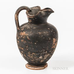 Attic Black-glazed Oenochoe