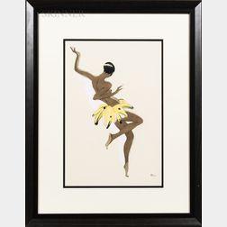 Paul Colin (French, 1892-1985)      Josephine Baker.