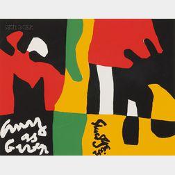 Stuart Davis (American, 1892-1964)      Untitled