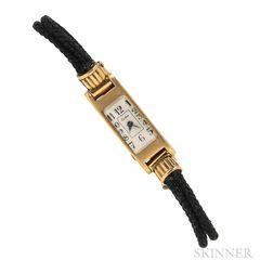 Cartier 18kt Gold Wristwatch