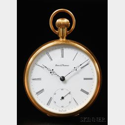 Benz and Thomas Gold Tourbillion Watch