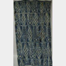 Cameroon Indigo Dyed Man's Robe